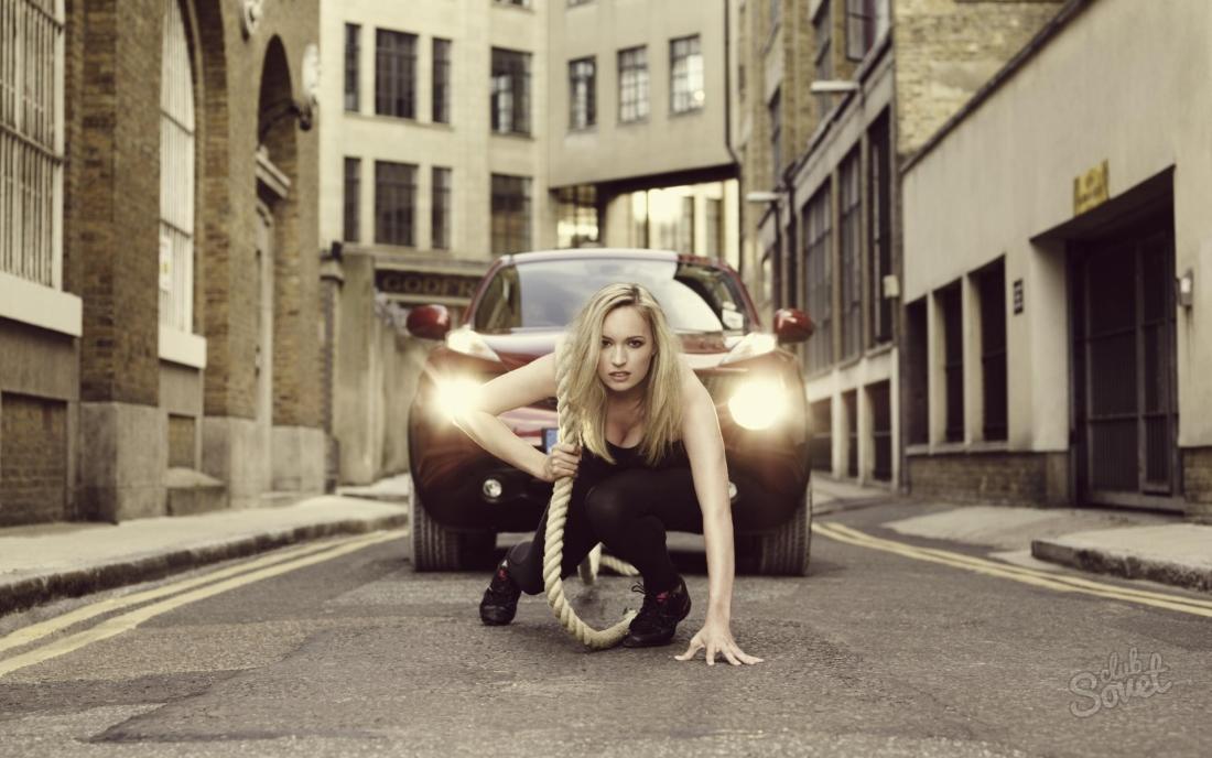 Как буксировать автомобиль на тросе: Советы для девушек