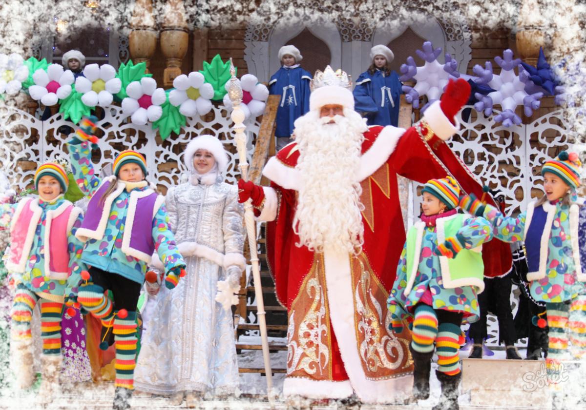 Новый год для детей в красноярске