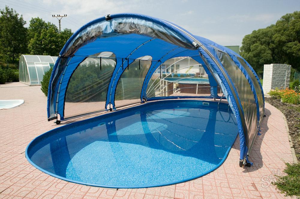 Крытый бассейн на даче своими руками пошагово