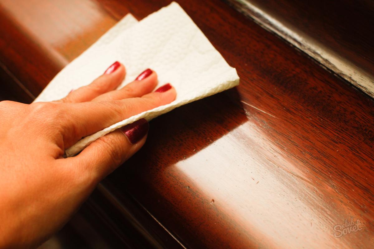 Ремонт скол на мебели своими руками