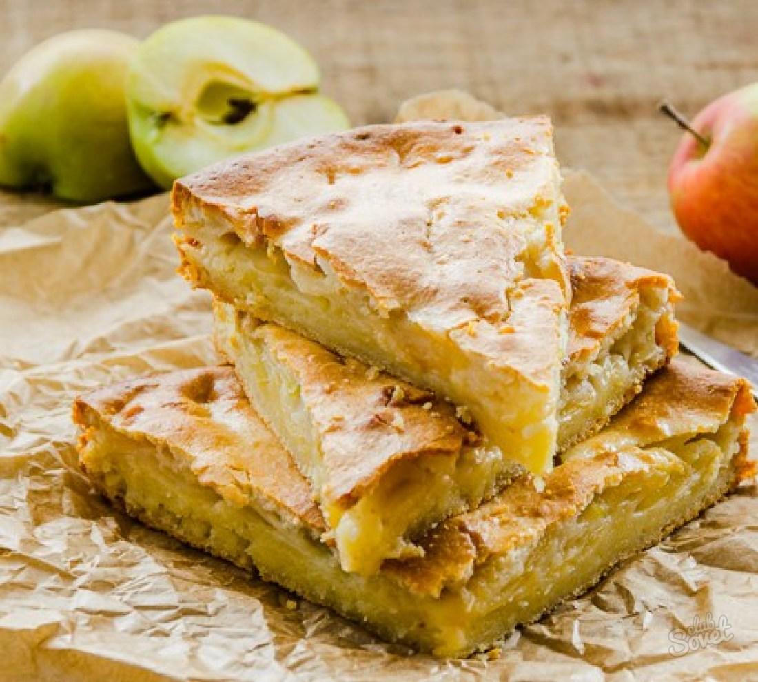 Вкусный яблочный пирог рецепты с пошаговым фото