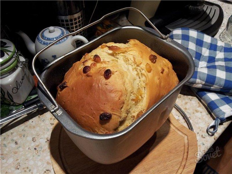 Кулич в хлебопечке мулинекс рецепты