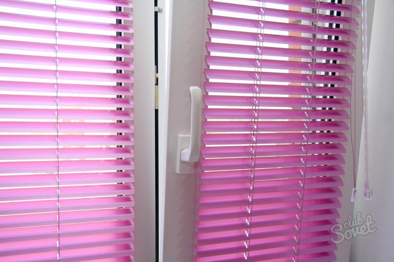 Как закрепить жалюзи на пластиковом окне
