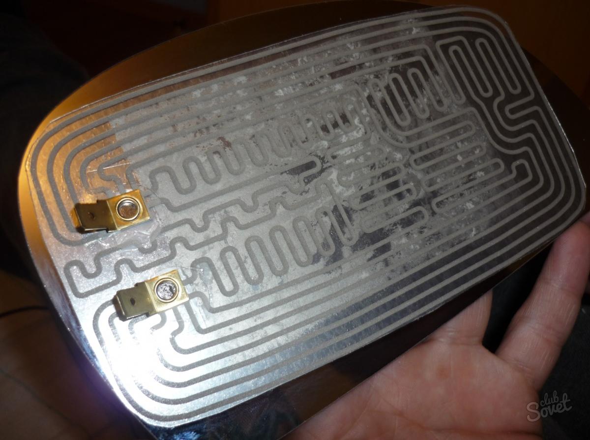 Как отремонтировать обогреватель заднего стекла 52