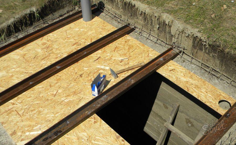Как сделать перекрытие для погреба