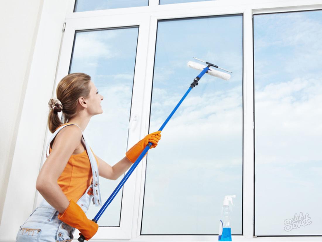 Как помыть окна на балконе снаружи. как вымыть окна балкона .