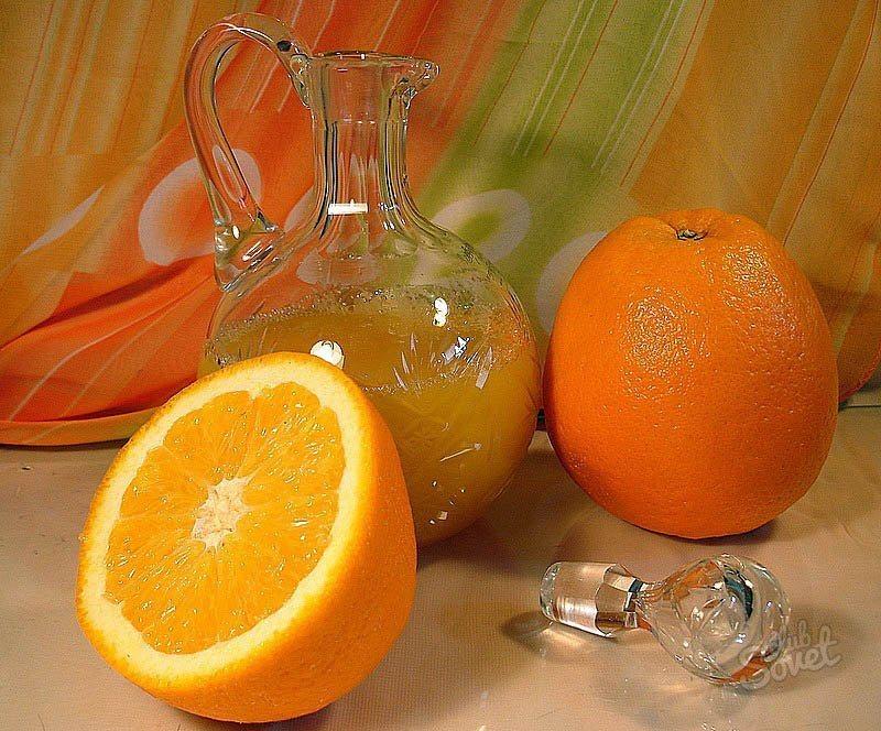 Апельсиновая настойка домашних условиях