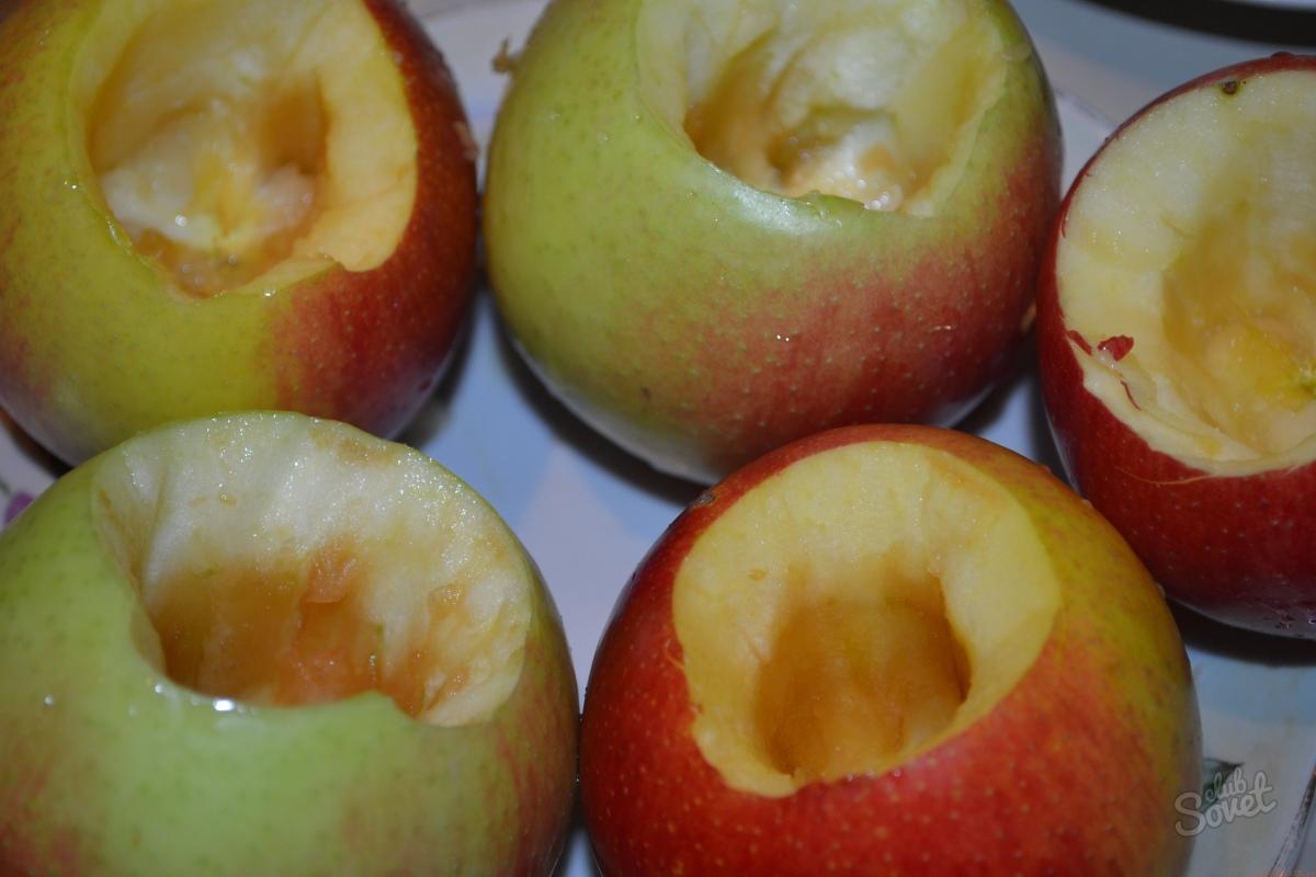 Как сделать запечённые яблоки