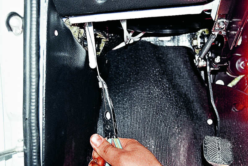 Замена тросика капота ваз 2107 капота