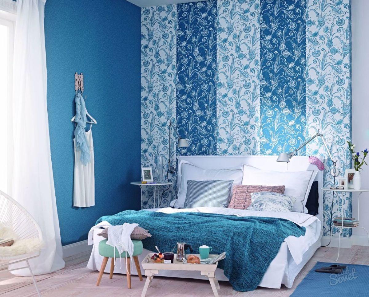 Schlafzimmer gestalten fliederfarbe