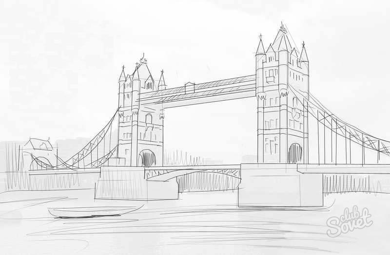 Города мира в карандаше рисунок