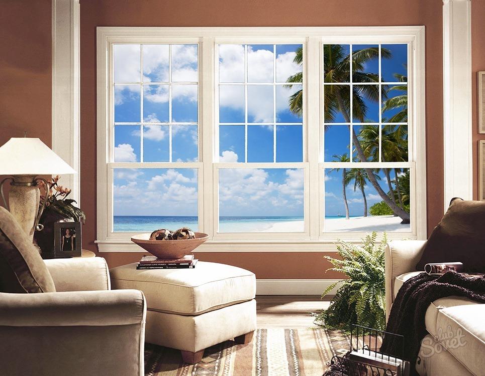 Фальш окна в интерьере своими руками