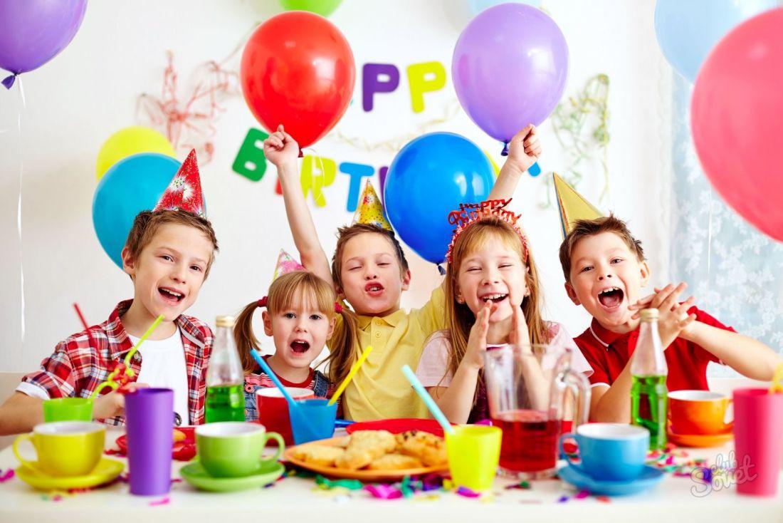 Идеи и конкурсы для детского дня рождения