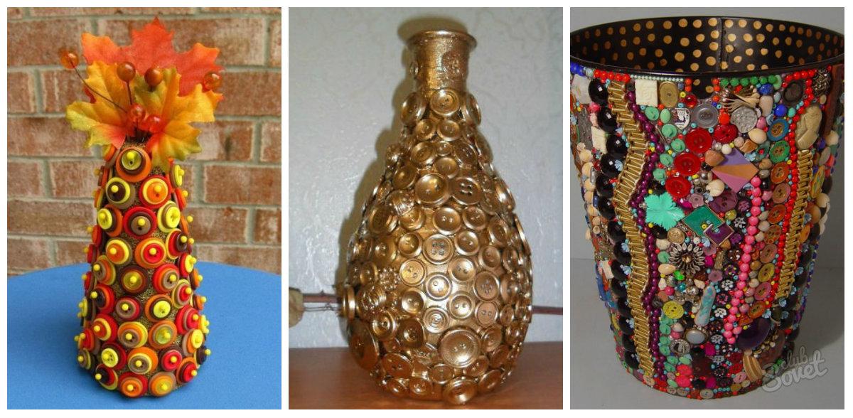 Оформление вазы своими руками 39