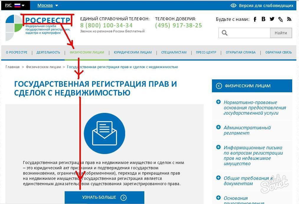 Инструкция росреестра по регистрации сделок