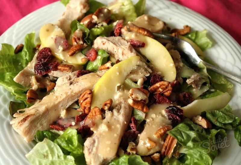 Изысканные салаты из курицы рецепты 313
