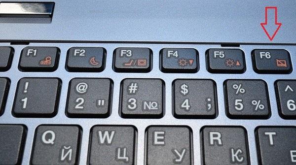 Как отключить тачпад в ноутбуке.