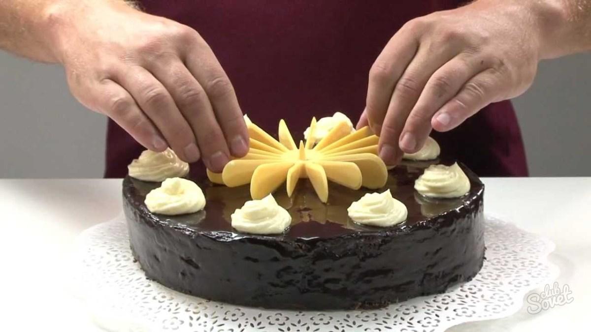 Как торт из мастики как резать