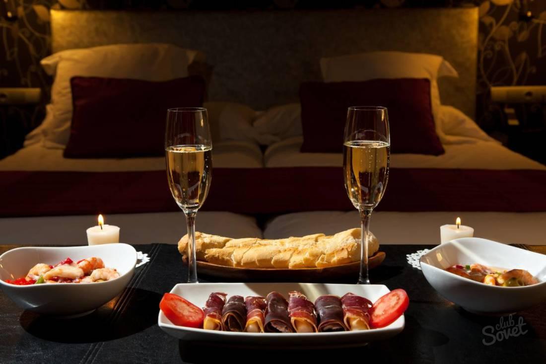 Романтический ужин для любимого в домашних условиях недорого