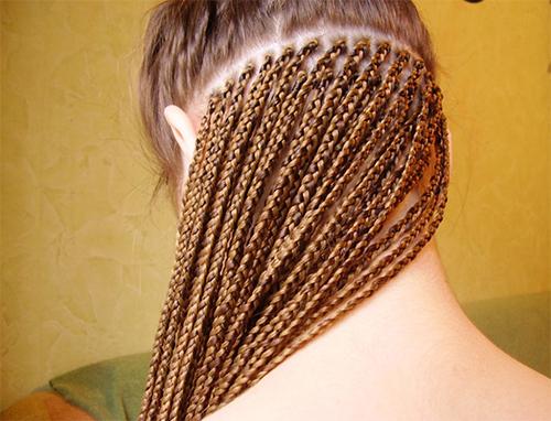 Виды плетения афрокосичек фото