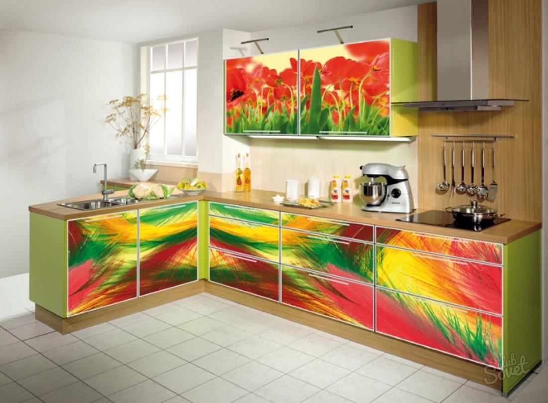 Как украсить своими руками кухонный гарнитур