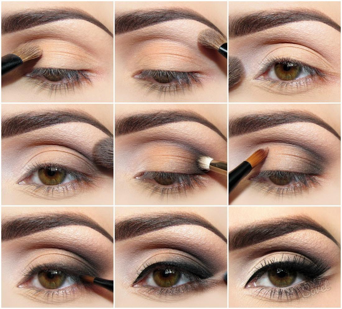 Фото красивый макияж для глаз с