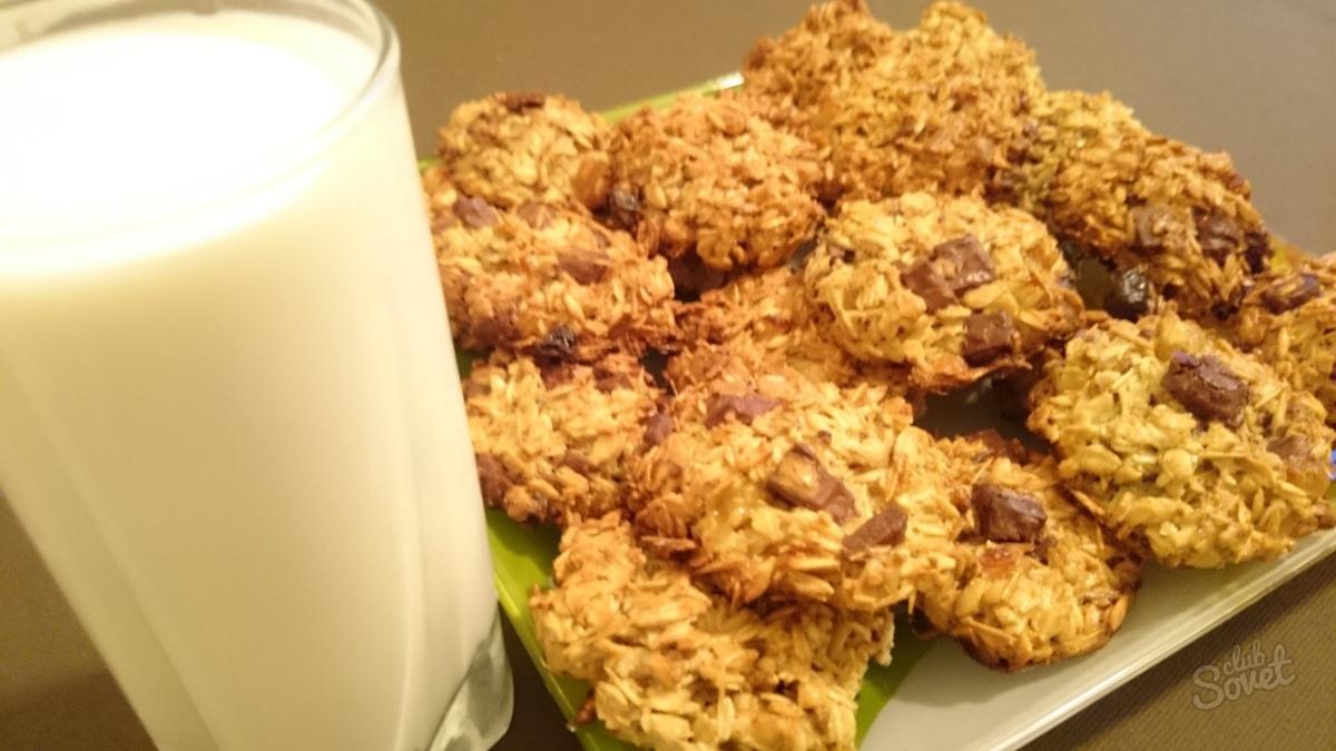 как приготовить овсяное печенье в домашних условиях диетическое