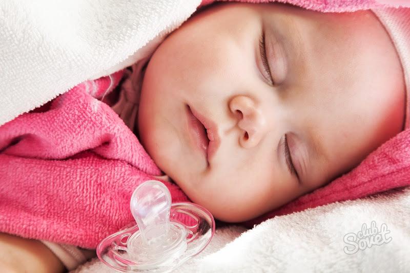1. Причина сосания ребенком соски.