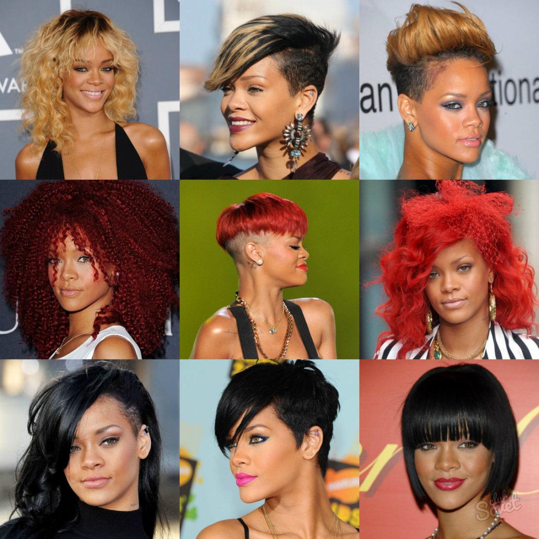 Цвет волос и прическа по
