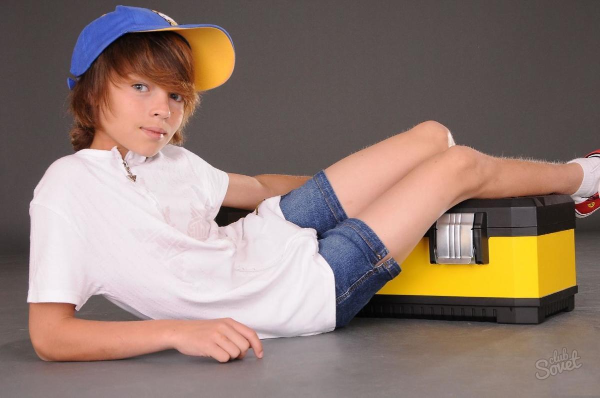 Юные фотомодели мальчики до 12 лет