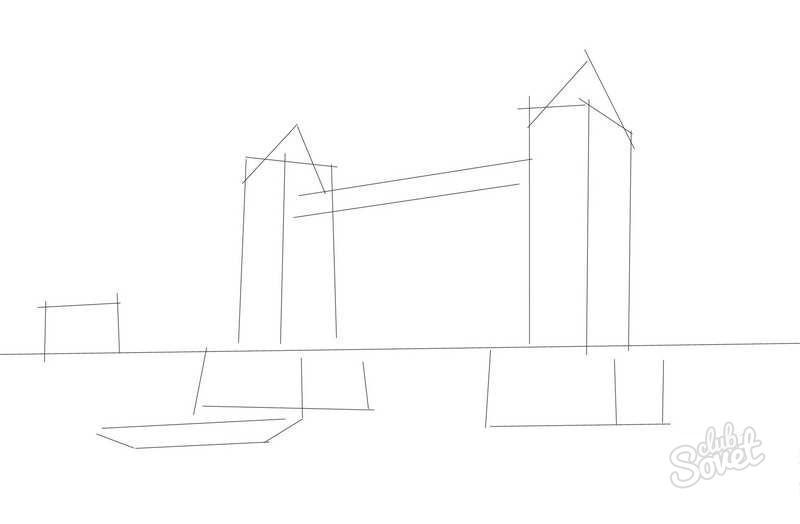как рисовать город карандашом: