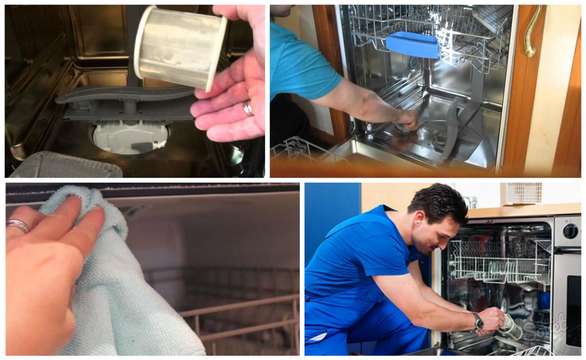 Чем промыть посудомоечную машину в домашних условиях