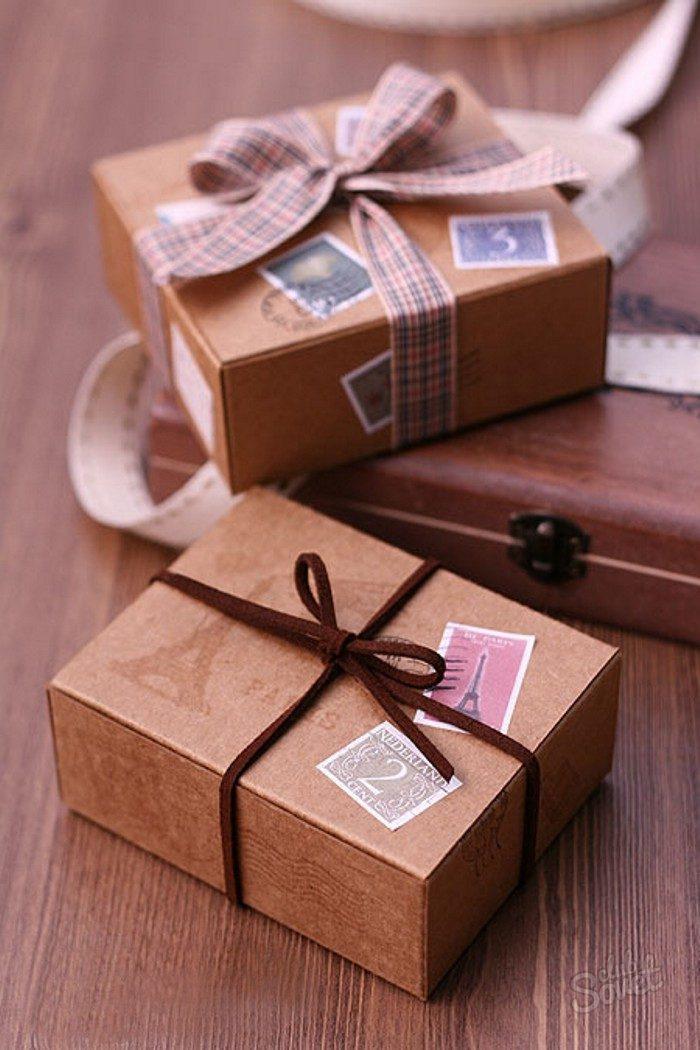 Подарочные красивые коробки своими руками