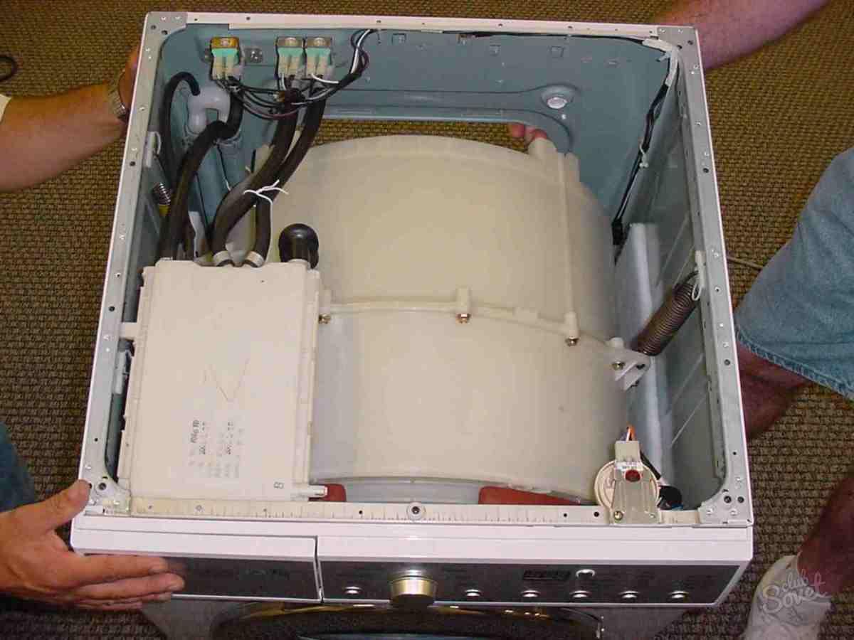 Разборка стиральной машины hansa своими руками