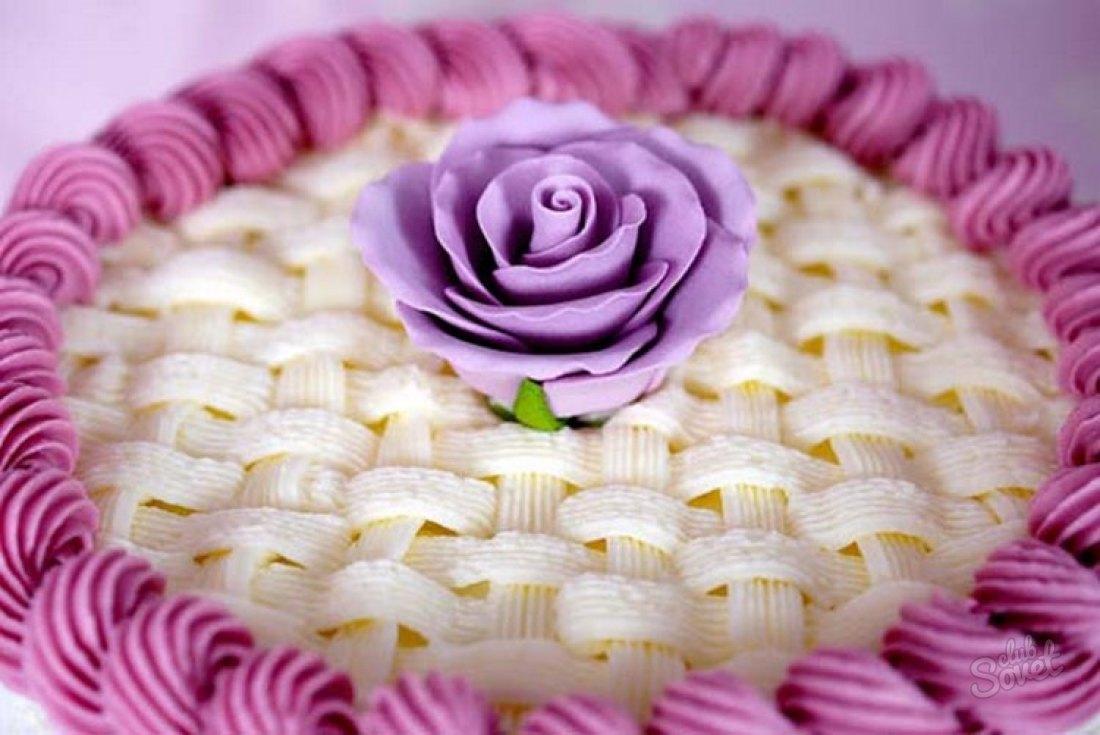 Украсить торт в домашних условиях масляным кремом 32