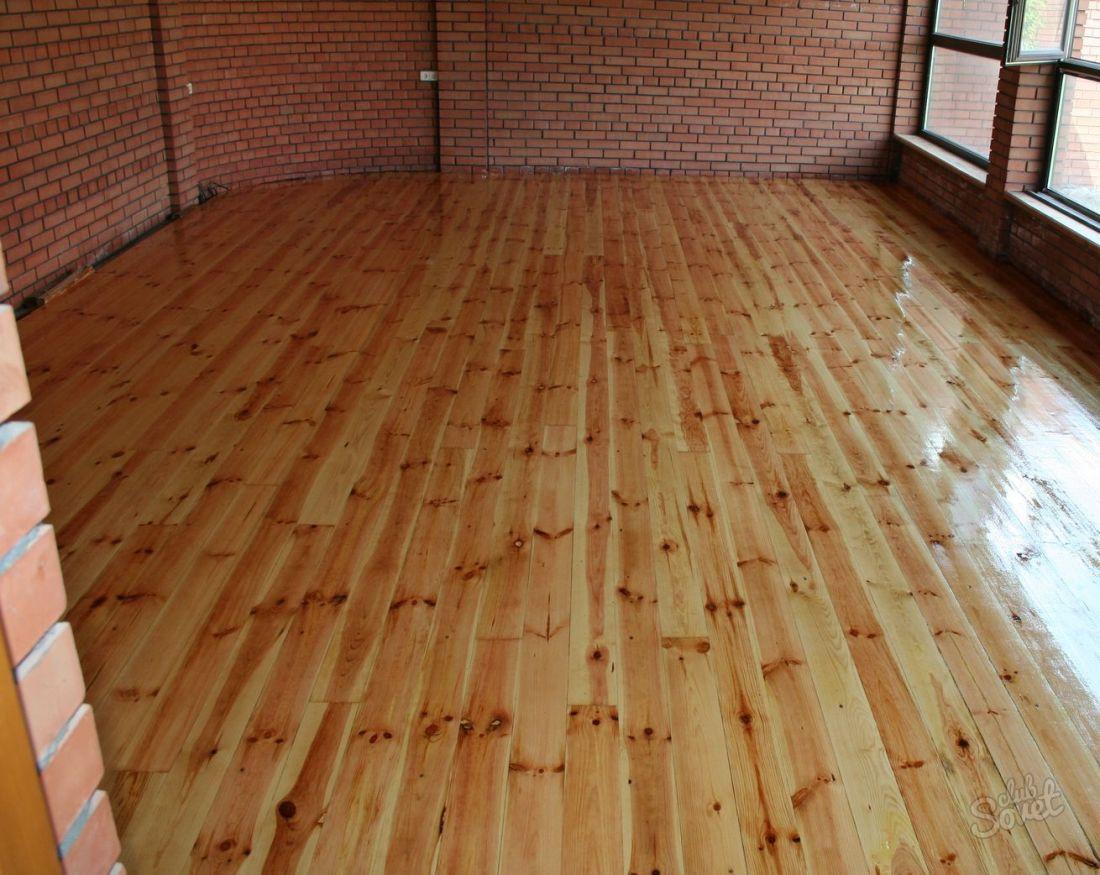 Настелить пол в деревянном доме своими руками