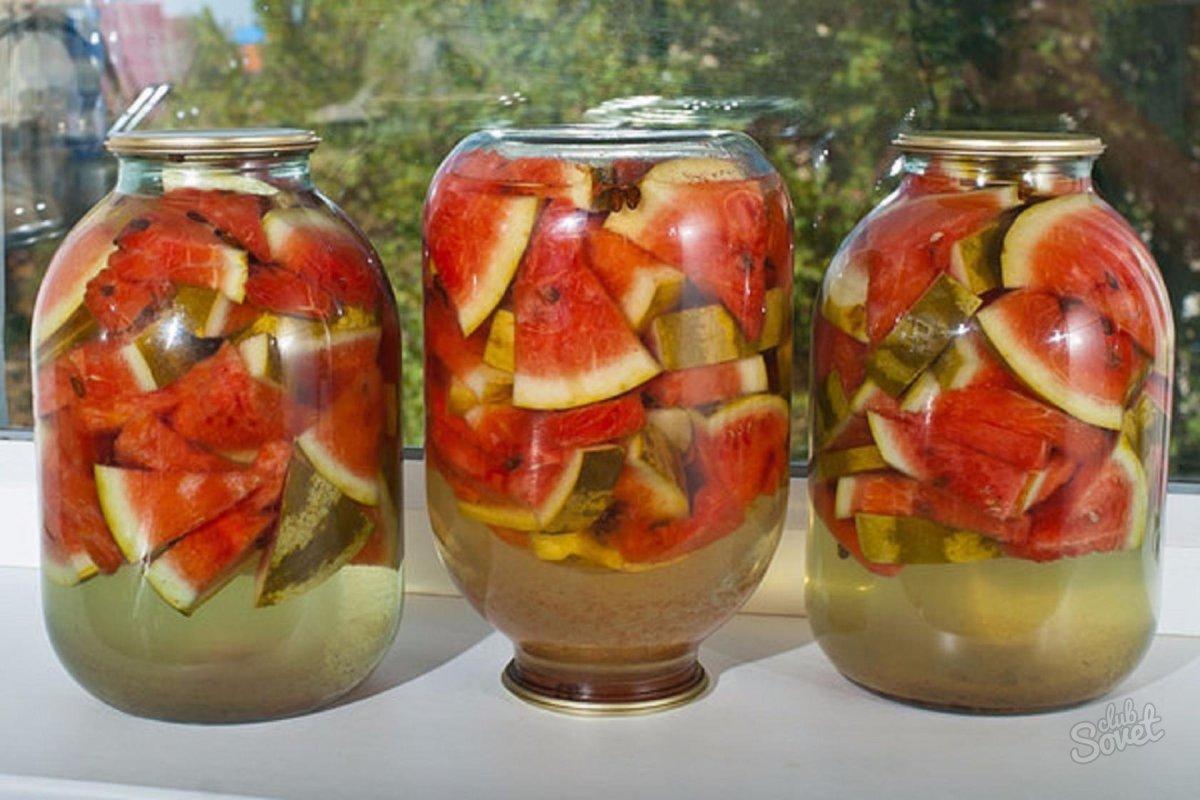 Рецепт арбузы закатка на зиму