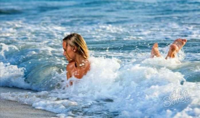 Беременной снится плавать в море 1190
