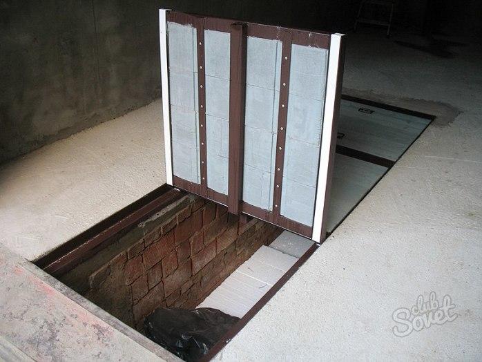 Крышка для смотровой ямы в гараже видео