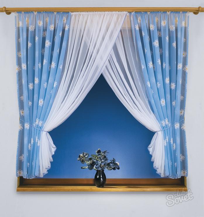 Занавески и шторы своими руками 22