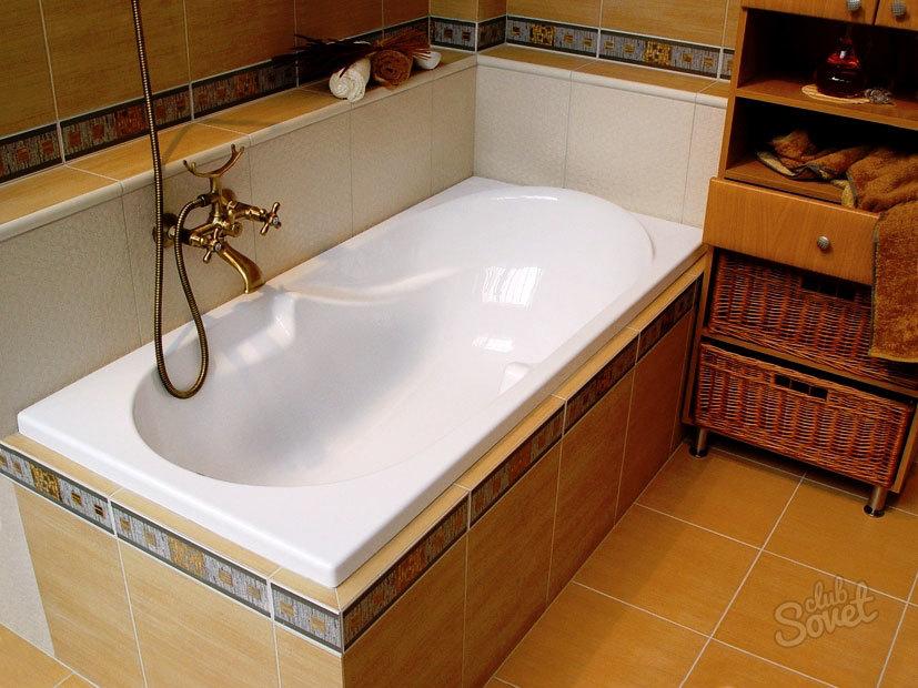 Монтаж акриловой ванной своими руками фото