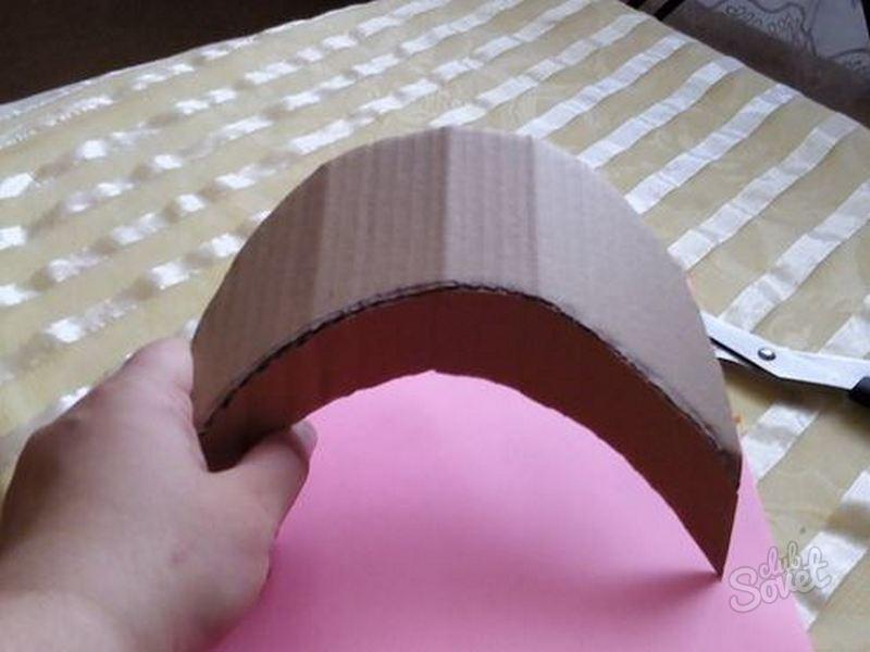 Кокошник сделать из картона