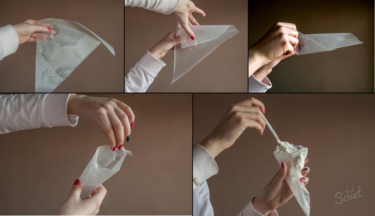 Как сделать кондитерский мешок