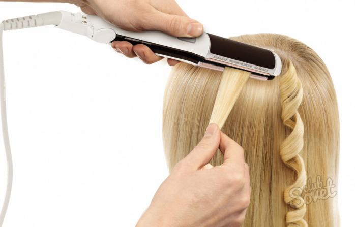Как сделать волосы прямыми домашних условиях