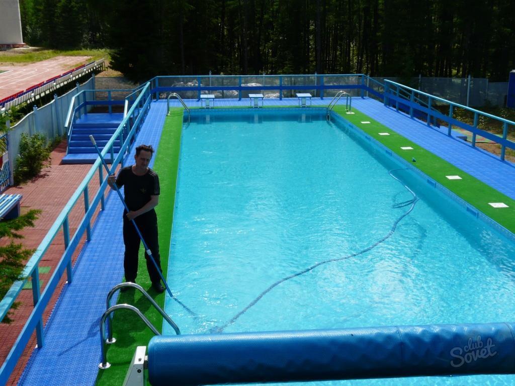 Как обеззаразить бассейн на даче