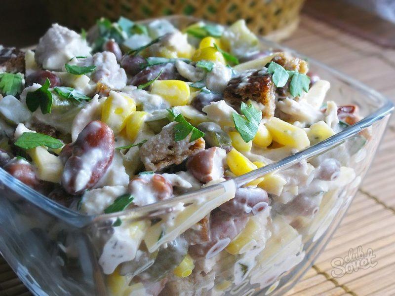 Салат с грудкой копченой рецепт с очень вкусный с