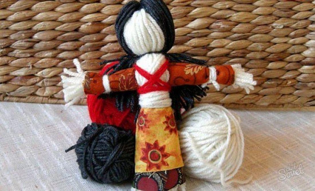 Кукла мотанка своими руками с ниток