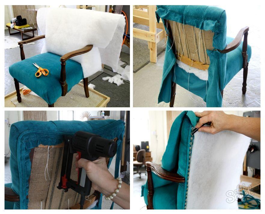 Перетяжка стульев своими руками 16