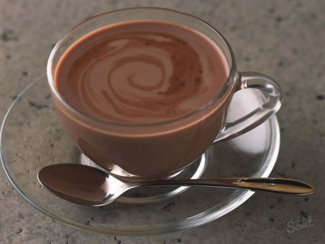 Как сделать горячий шоколад в домашних условиях рецепт с