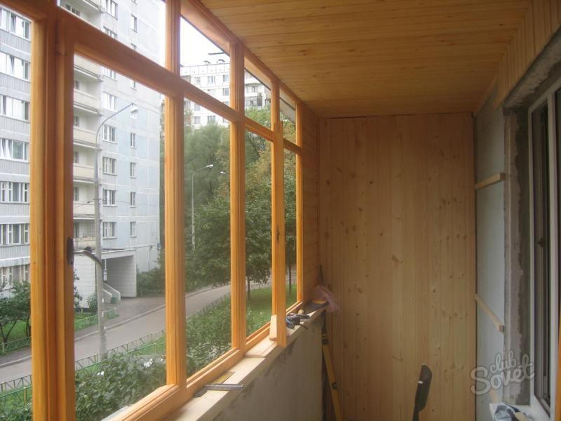 Деревянные балконы фото
